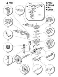 ABAC - B2800 KAFA YEDEK PARÇA LİSTESİ-----BİLGİ İÇİN ÜRÜNE TIKLAYINIZ.