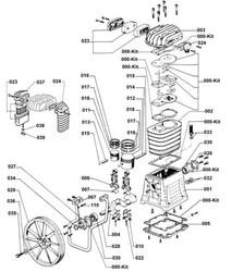 ABAC - B4900 KAFA YEDEK PARÇA LİSTESİ