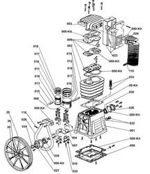 ABAC - B5900 KAFA YEDEK PARÇA LİSTESİ